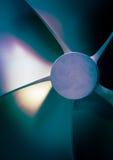 Tech för detalj för fartygpropellernärbild trevlig Arkivfoto