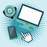Tech gadgets Stock Photos