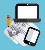 Tech gadgets Stock Photo