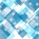 Tech geometric blue background Stock Photo