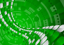 Tech green background Royalty Free Stock Images