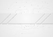 Tech grey abstract background with circuit board. Tech grey abstract corporate background with circuit board. Vector design vector illustration