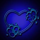 Tech Heart Stock Photography