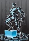 Tech Hero 2 royalty free illustration