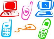 Tech Icons stock illustration