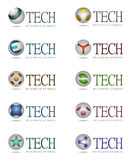 Tech icons royalty free illustration