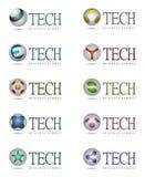 Tech icons Stock Photos