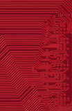 Tech industrial electronic background Stock Photos