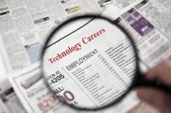 Tech jobs Stock Image