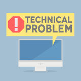 Tech problem Stock Photo