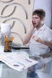 Tech problems Stock Photo