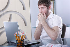 Tech problems Stock Image