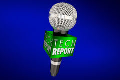 Tech Report New Innovation Product Update Technology Microphone Stock Photography