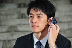 Tech Savvy Asian Executive 16 Royalty Free Stock Photography