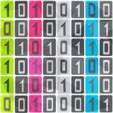 Tech seamless pattern Stock Photography