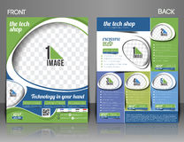 The Tech Shop Flyer Royalty Free Stock Photos