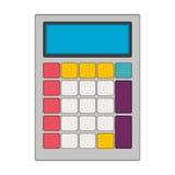 tech with solar calculator pocket Royalty Free Stock Photos