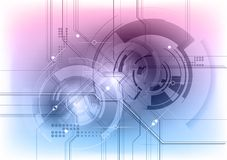 Tech symbol Stock Image
