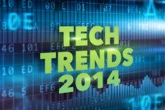 Tech tenderar begreppet 2014 Royaltyfri Fotografi