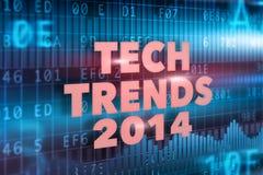 Tech tenderar begreppet 2014 Arkivbilder