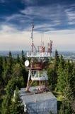 Tech tower Stock Photo