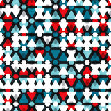Tech triangle seamless pattern Stock Photo