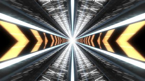 Tech Tunnel Background Animation Loop stock footage