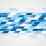 Tech vector blue background Royalty Free Stock Photography