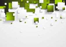Tech vector shapes design Royalty Free Stock Image
