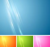 Tech vibrant abstract vector background Stock Photography