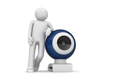 Tech - Webcamera Royalty Free Stock Photo
