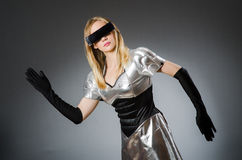 Tech woman Royalty Free Stock Photo