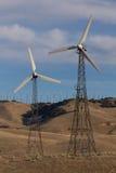 Techahapi Windmills Royalty Free Stock Photo
