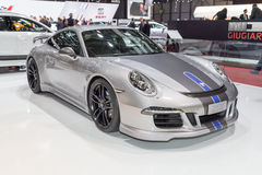 2015 TechArt Porsche 911 Carrera GTS Zdjęcia Stock