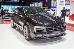 2015 TechArt Porsche Cayenne Turbo Royalty-vrije Stock Afbeeldingen