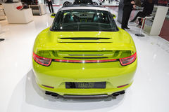 2015 TechArt Porsche 911 Targa 4S Royalty Free Stock Photography