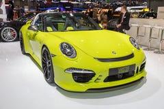2015 TechArt Porsche 911 Targa 4S Stock Photos