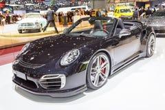 2015 TechArt Porsche 911 Turbos-Cabriolet Stock Fotografie