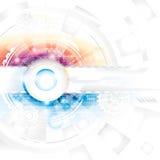 Techbakgrund Royaltyfri Bild
