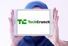 TechCrunch technology company logo Royalty Free Stock Photography