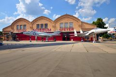 Techink Museum in Speyer, Germany Royalty Free Stock Photography