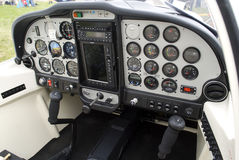 Technam cockpit Stock Photo