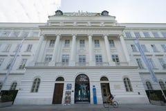 The Technic University of Vienna. The facade of Technische Universität in Vienna Stock Images