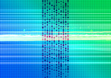 Technical abstract background. A colorful abstract digital background Stock Photography