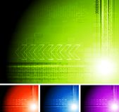 Technical abstraction Stock Photo