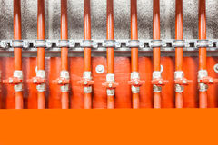 The technical area Royalty Free Stock Photo