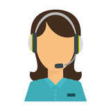 Technical assistant icon image. Design,  illustration Stock Photos