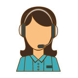 Technical assistant icon image. Design,  illustration Stock Photo