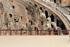 Technical background of Colosseum Stock Images
