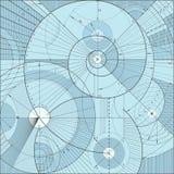 Technical backgroundd vector illustration